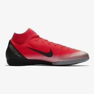 Nike Crimson Men Soccer Shoes AJ3567 600 Size 8.5